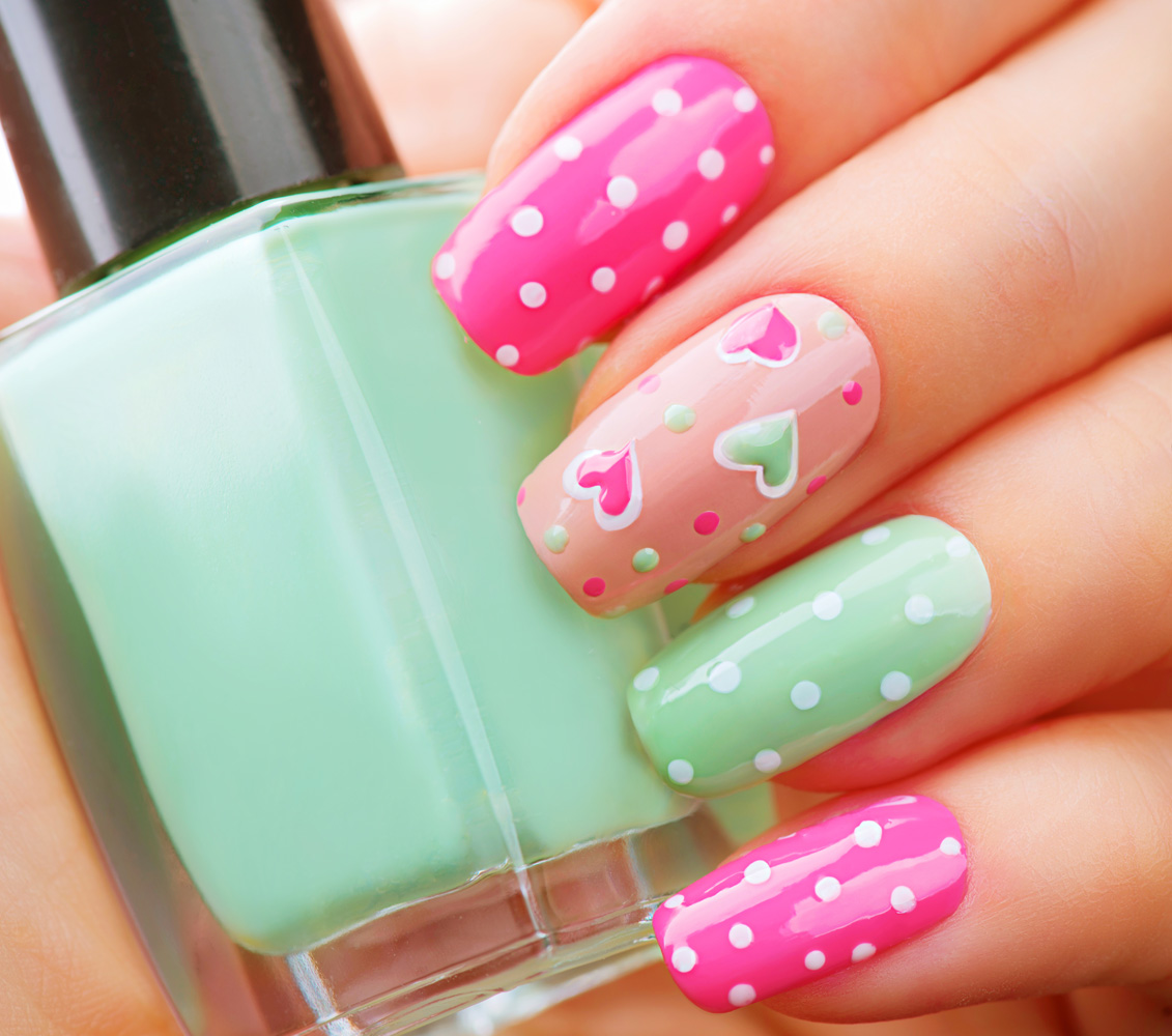 Simple And Easy Nail Art Design Ideas Newspaper Craft Ideas