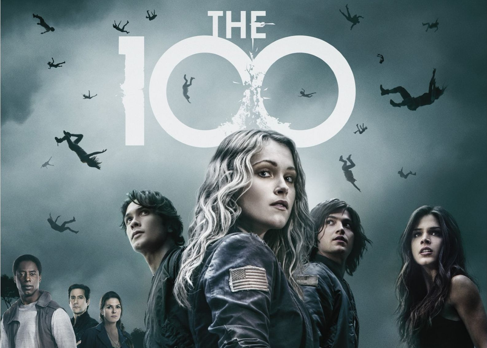 The 100 The New Sci Fi Series Newspaper Video Demo